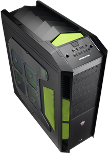 Aerocool X-Predator Case - Evil Green