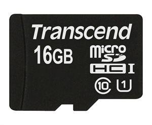 Transcend 16GB microSDHC Class 10 UHS-I 300x (Premium)