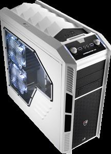Aerocool X-Predator X3 Shell-Like Gaming Case - White