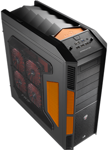 Aerocool X-Predator Case - Black/Orange