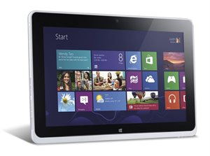 "Picture of Acer Iconia W510 (NT.L0KSA.001) 64GB WiFi 10.1"" Tablet, Atom 2760, Win 8, Silver - Touch"