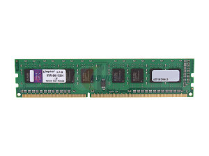 Kingston 4GB DDR3 1600MHz CL11 Desktop Memory (KVR16N11S8/4)