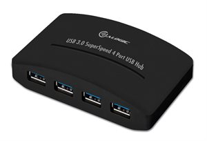 Alogic 4-Port SuperSpeed USB3.0 Powered Hub USB34PH