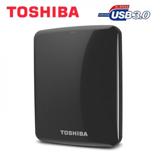Toshiba Canvio Connect USB 3.0 V7 500GB External HDD (Black)