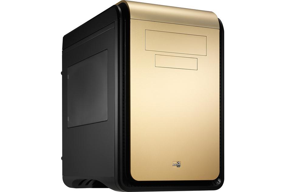 Aerocool DS Cube Window Champaign Gold Mini ATX Case