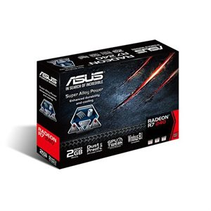 Asus (R7240-2GD3-L) Radeon R7 240 2GB 128-bit DDR3 - PCI Express 3.0 - HDCP Ready Low Profile Video Card