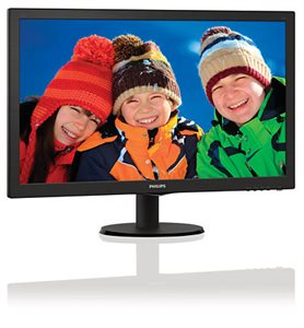 """Philips 27"""" LCD monitor with SmartControl Lite & Speakers - V-line (273V5LHAB)"""