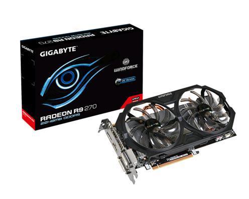Gigabyte AMD Radeon R9 270(R927OC-2GD) 2GB DDR5 - PCI-E 3.0 - 975/5600MHZ