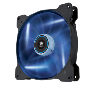 Corsair AF140 (CO-9050017-BLED) - 140mm Quiet Edition BLUE LED Cooling Fan