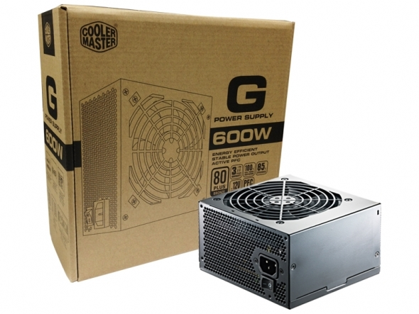 Cooler Master 600W G Series 80+ Bronze Power Supply