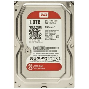 "Western Digital 1TB Red 3.5"" Internal Hard Drive WD10EFRX"