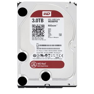 "Western Digital 3TB Red 3.5"" Internal Hard Drive WD30EFRX"