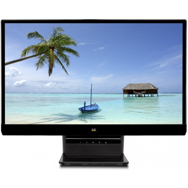 "Viewsonic 4MS Frameless 23"" LED Display - SLIM BEZEL FRAME (VX2370SMH-LED)"