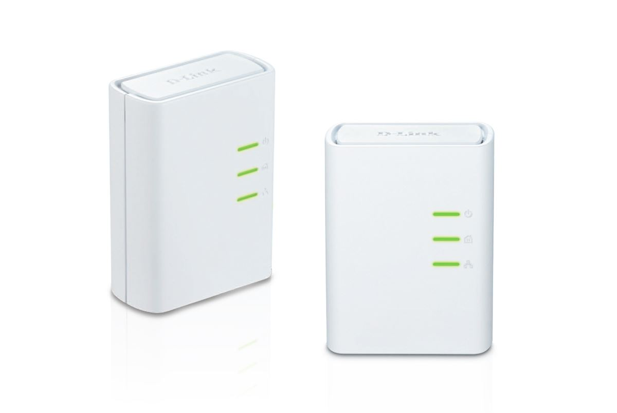 D-Link DHP-309AV PowerLine AV+ Mini Adapter Starter Kit Up to 500Mbps