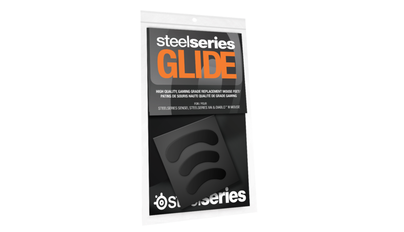 SteelSeries Glide SENSEI - Replacement Teflon Mouse Feet for SENSEI & SENSEI RAW Mouse (60032(GLIDE SENSEI)