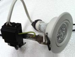 Intech 240V 8W Spot Light Kit - Cool White (BZ-DBH-8W-KIT-C)