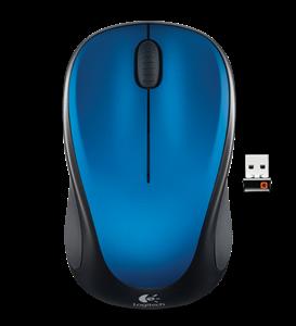 Logitech Wireless Mouse M235 - Blue