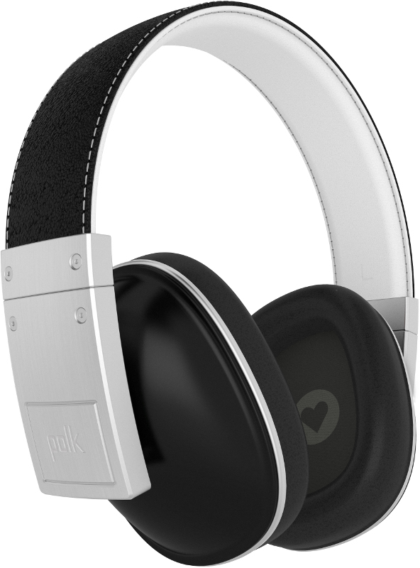 Polk Buckle Stylish over-ear headphones - Black
