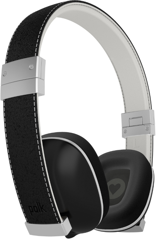 Polk Hinge Compact on-ear headphones - Black