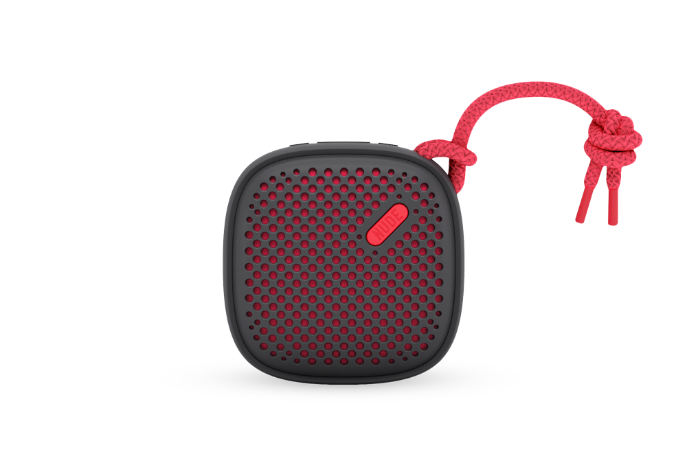 Nude Audio Move S - Portable Bluetooth Speaker Black/Coral