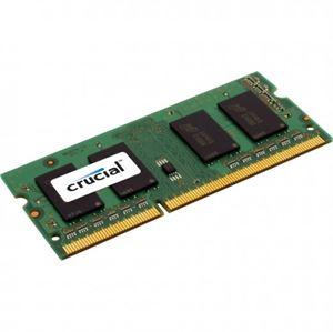 8GB Crucial SODIMM DDR3 PC12800 1600MHz CL11 1.35V Laptop Memory