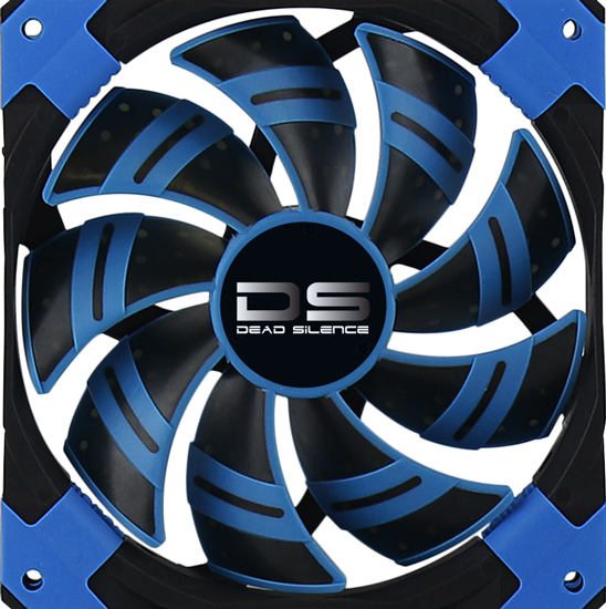 120mm AeroCool DS Dead Silence Cooling Fan - Blue