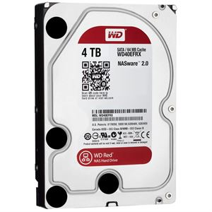 "Western Digital 4TB Red 3.5"" Internal Hard Drive WD40EFRX"