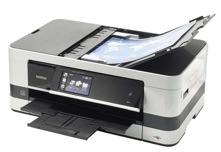 Brother Compact Colour Inkjet  Multi-Function Centre Printer  (MFC-J4510DW)