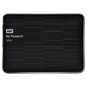 "1TB Western Digital 2.5"" My Passport Ultra USB3.0 Portable HDD - Black"