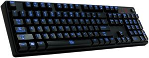 Thermaltake Poseidon Z  Backlit Gaming Keyboard - Blue Switches