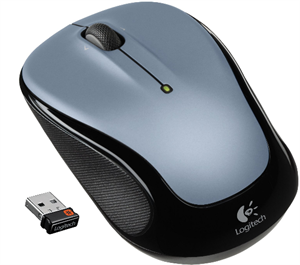 Logitech Wireless Optical Mouse M235 - Colt Glossy