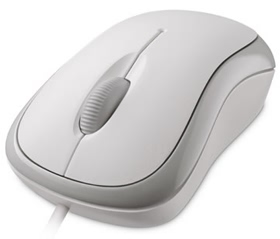 Microsoft Basic Wired Optical Mouse - White