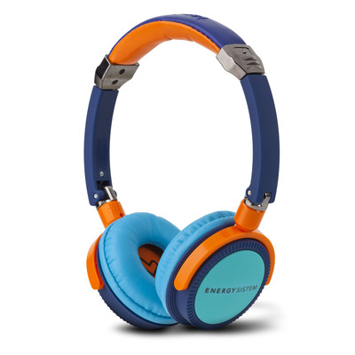 Energy DJ400 Blue Turquiose Headphones