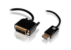 Alogic 1m DisplayPort to DVI-D Cable - Male to Male