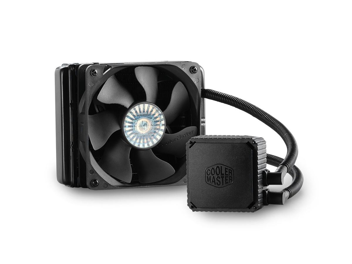 120mm Cooler Master Seidon 120v CPU Closed-Loop Water Cooling Kit