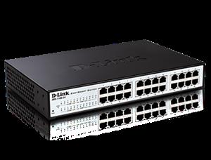 D-Link 24 Port (DGS-1100-24) Gigabit EasySmart Managed Switch