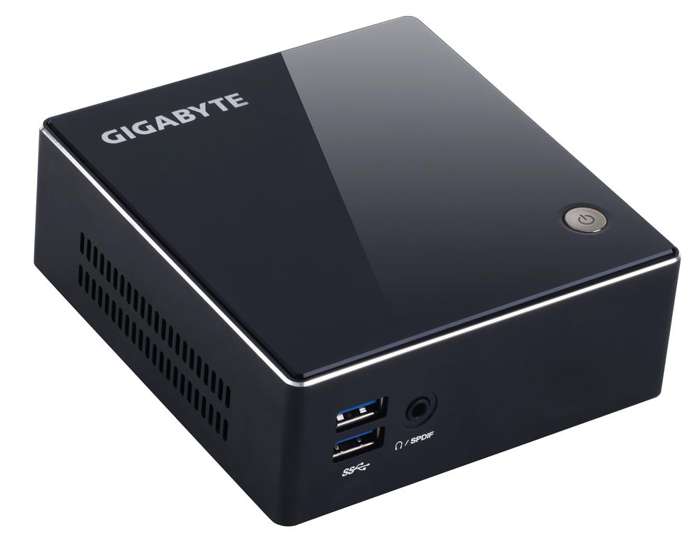 """Gigabyte BXI3H-4010 I3-4010U 2xSODIMM 1600DDR3 2.5"""" HDD WIFI/BT 1xmSATA/4xUSB/HDMI/MINI-DP"""
