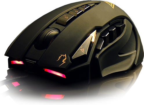 Gamdias Zeus Laser Gaming Mouse - 8200DPI Resolution