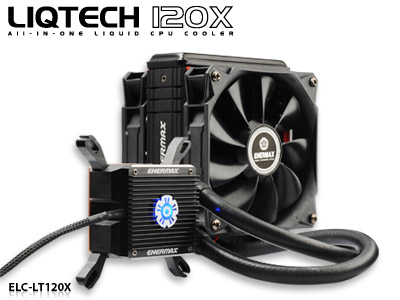 Enermax (EN-ELC-LT120X-HP) Liqtech 120X Liquid CPU Cooler
