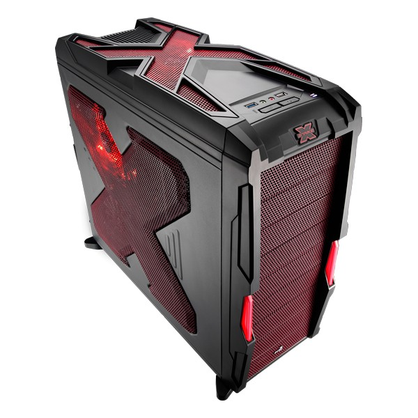 Aerocool Strike-X Advance Red Mid Tower Case, No PSU