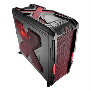 Picture of Aerocool Strike-X Advance Red Mid Tower Case, No PSU