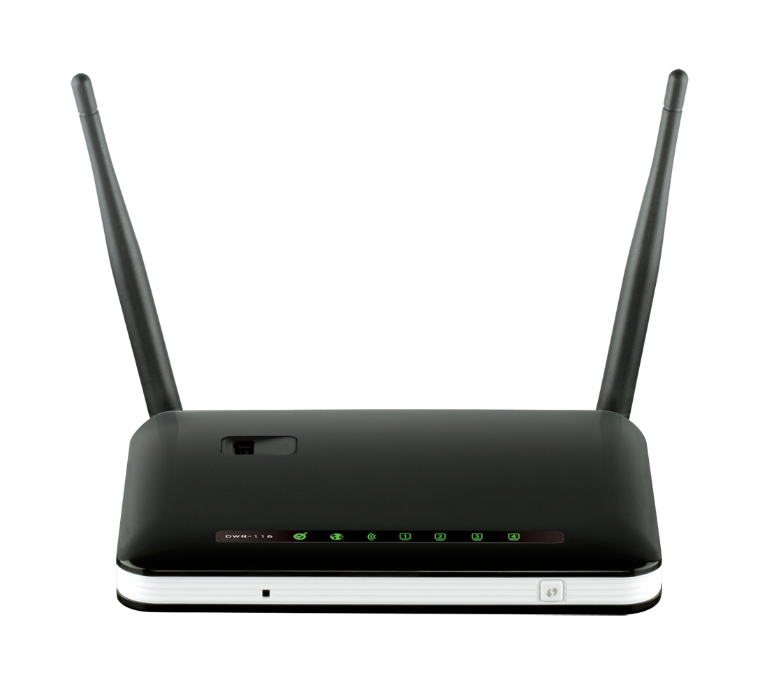 D-Link DWR-116 Wireless N300 3G/4G Multi-WAN Router