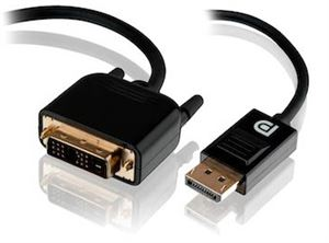 ALOGIC 3m DisplayPort to DVI-D Cable - Male to Male