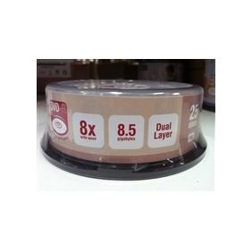 DVRite DVD+R Dual Layer 8.5GB 25PK