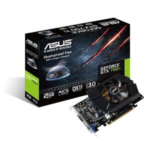 Asus GeForce GTX 750Ti 2GB GDDR5 Graphics Card