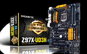 Gigabyte Z97X-UD3H 4xDDR3 PCI-E USB3.0 LGA1150