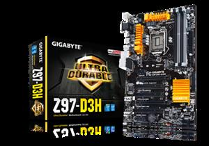Gigabyte Z97-D3H 4x1600Mhz PCI-E 3.0 USB 3.0 HDMI/DVI-D/VGA LGA1150