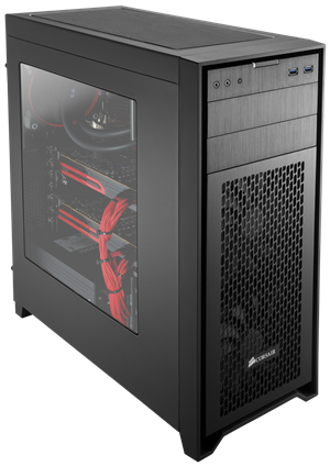Corsair Obsidian Series 450D Black High Airflow Mid Tower Case