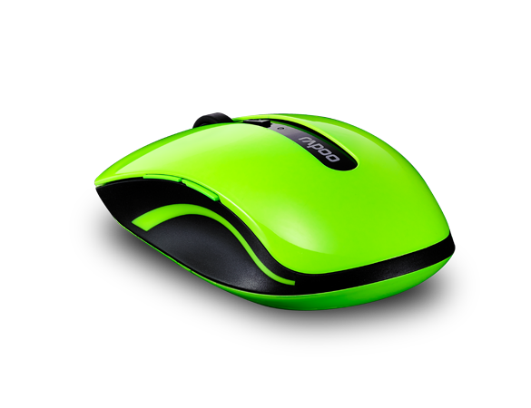 Rapoo 7200P 5G Wireless High Level 6 Key Optical Mouse Green