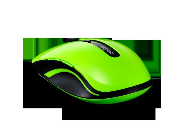 Rapoo 7200P 5G Wireless High Level 6 Key Optical Mouse Green